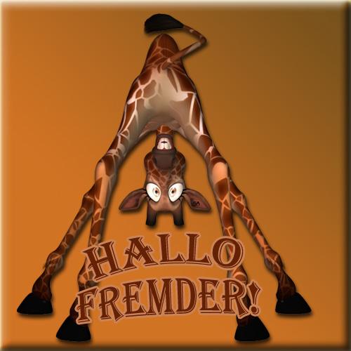 Hallo Fremder!