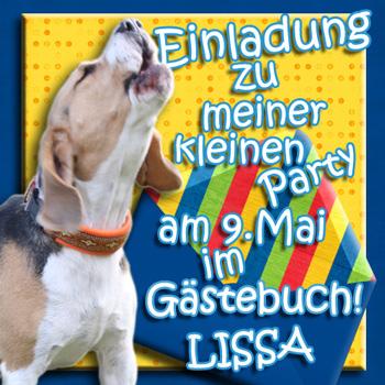 Lissas Geburtstagseinladung