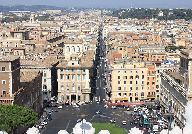 vom Vittoriano - Piazza Venezia