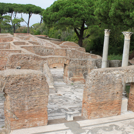 Ostia Antica im Oktober 2010