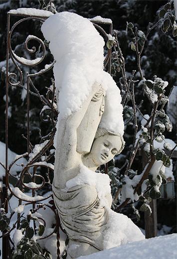 der 1. Schnee...