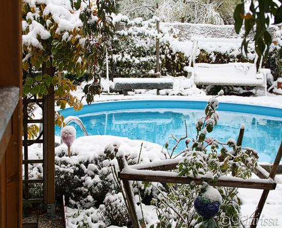 viel Schnee!