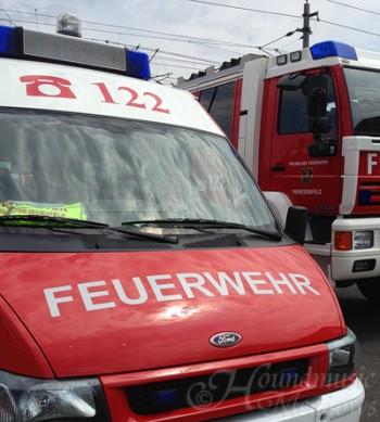 Eierspeisessen bei der Feuerwehr